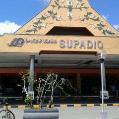 Photo taken at Supadio International Airport (PNK) by abell A. on 12/6/2012
