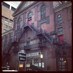 Photo taken at Massey Hall by Jay R. on 1/11/2013