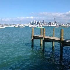 Photo taken at Northcote Point by Lankan D. on 3/12/2014