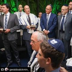 Photo taken at Sinagoga da Hebraica by Alberto D. on 9/24/2015