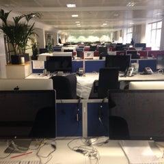 Photo taken at Pearson HQ by Sebastián M. on 8/21/2015
