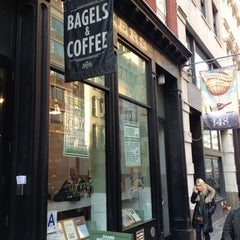 Photo taken at Zucker's Bagels and Smoked Fish by Gregory M. on 12/3/2012