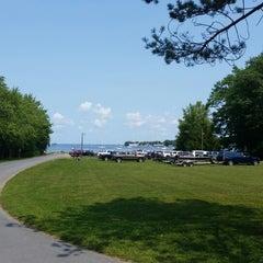 Photo taken at Lake Ontario by Ricardo B. on 8/8/2014
