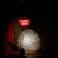 Photo taken at Comedy Union by Cisco L. on 4/5/2015