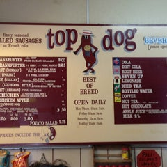 Photo taken at Top Dog by Victor R. on 7/15/2013