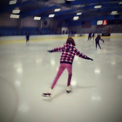 Photo taken at Charles Moore Arena by Andrew B. on 1/4/2014