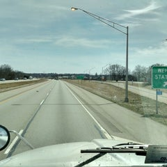 Photo taken at Ohio/Indiana State Line by dan on 3/22/2015