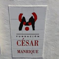 Photo taken at Fundación Cesar Manrique by Alfonso Juan L. on 6/9/2013