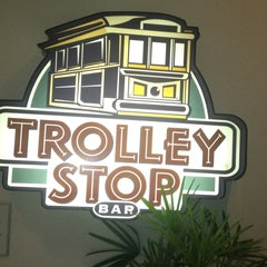 Photo taken at Trolley Stop Bar by Dory M. on 5/20/2013