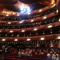 Photo taken at The Metropolitan Opera by Michael R. on 1/13/2013
