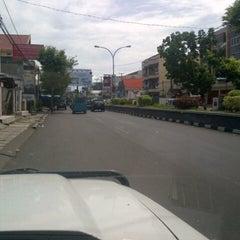 Photo taken at Jalan RW Monginsidi by Matthew &. on 4/5/2013