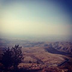 Photo taken at Mount Nebo جبل نيبو by Alexandra P. on 9/4/2013