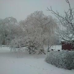 Photo taken at Sokołowsko by Mateusz K. on 1/22/2013