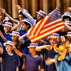 Photo taken at Munsey Park Elementary School by John H. on 6/4/2014