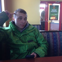 Photo taken at Moe's Southwest Grill by Cameron F. on 1/23/2013