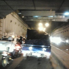 Photo taken at Underpass Pasar Minggu by Dandun W. on 10/30/2012