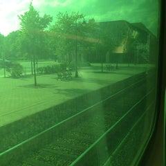 Photo taken at Metra - Lake Forest by Patricia D. on 8/7/2013