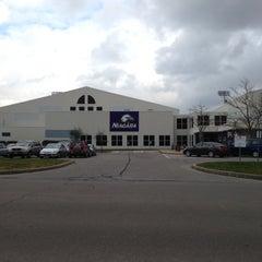 Photo taken at Kiernan Center Gym by Tyler M. on 12/12/2012