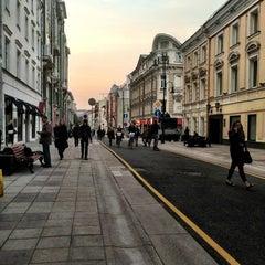 Photo taken at Большая Дмитровка by Anastasia V. on 9/12/2013