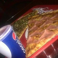 Photo taken at Monster Pizza by Josh Carpenter E. on 8/4/2014