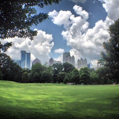 Photo taken at Piedmont Park by Maurice on 6/16/2013