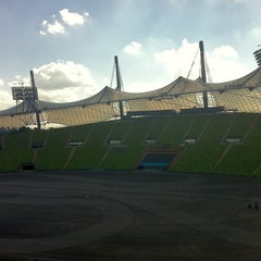 Photo taken at Olympiastadion by Daniel S. on 6/6/2013