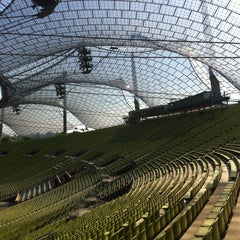 Photo taken at Olympiastadion by Marc G. on 9/6/2013