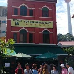 Photo taken at Yut Kee Restaurant (鎰記茶餐室) by Jason T. on 9/7/2014