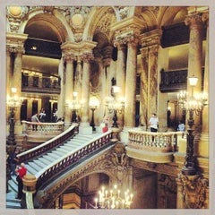 Photo taken at Opéra Garnier by Carlos M. on 6/8/2013
