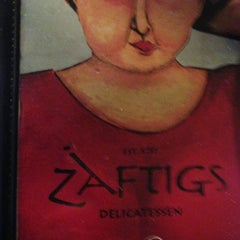 Photo taken at Zaftigs Delicatessen by Ledona H. on 2/19/2013