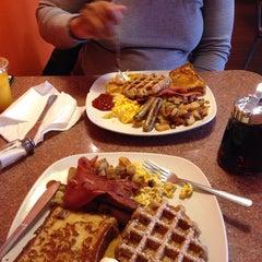 Photo taken at Grid Iron Waffle Shop by Zak S. on 3/29/2014