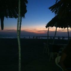 Photo taken at Playa Bonfil by Arturo L. on 12/31/2012