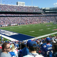 Photo taken at Ralph Wilson Stadium by John G. on 9/16/2012