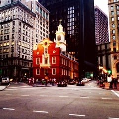 Photo taken at Old South Meeting House by Kurt I. on 8/17/2014