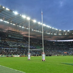 Photo taken at Stade de France by Stade de France on 10/8/2013