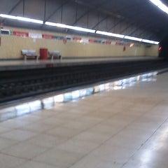 Photo taken at Cercanías 12 de Octubre by Lemon H. on 3/2/2013