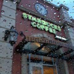 Photo taken at Starbucks by Tatevik P. on 1/25/2013