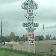 Photo taken at Lake Elsinore Hotel & Casino by Reggie H. on 2/19/2013