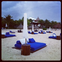 Photo taken at Maroma Hotel by Mario L. on 12/11/2012