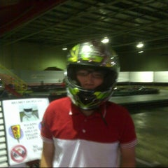 Photo taken at Kart World Belmont by Ian S. on 4/25/2013