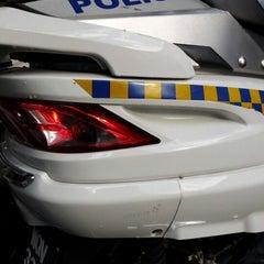 Photo taken at Balai Polis Melaka Tengah (Cawangan Trafik) by Nor Aswan A. on 12/21/2012