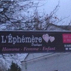 Photo taken at L'éphémère by Jerome on 1/5/2013