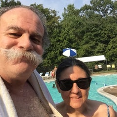 Photo taken at Edgewood Pool by Ron E. on 9/1/2015