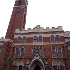 Photo taken at Kirkland Hall - Vanderbilt by Natalie F. on 12/28/2013