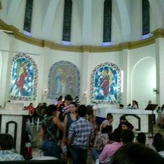 Photo taken at Igreja Matriz de Lucélia by Eliana Z. on 2/21/2013