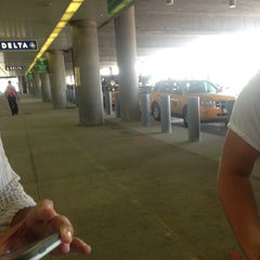 Photo taken at Taxi Stand by Taylor P. on 8/15/2013