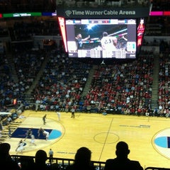 Photo taken at Time Warner Cable Arena by Billy Y. on 1/3/2013