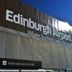 Photo taken at Edinburgh Airport (EDI) by Yuichi T. on 7/17/2013