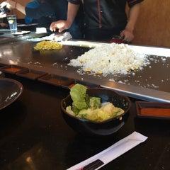 Photo taken at Fuji Japanese Steak House by Amanda S. on 3/6/2015