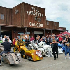 Photo taken at Full Throttle Saloon by Werner on 8/4/2015